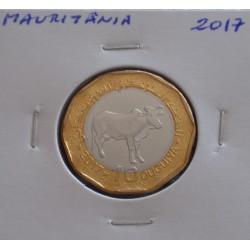 Mauritânia - 10 Ouguiya - 2017