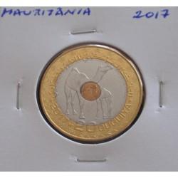 Mauritânia - 20 Ouguiya - 2017