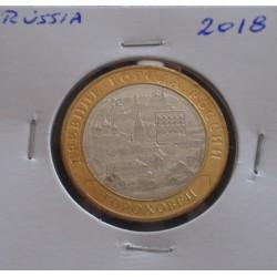 Rússia - 10 Roubles - 2018