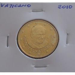 Vaticano - 50 Centimes - 2010