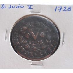 D. João V - V Réis - 1728 -...