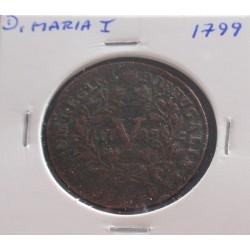 D. Maria I - V Réis - 1799