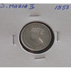 D. Maria II - 100 Réis -...