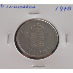 Dinamarca - 1 Krone - 1978
