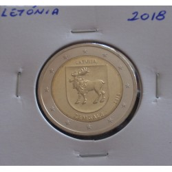 Letónia - 2 Euro - 2018 -...