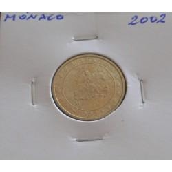 Mónaco - 10 Centimes - 2002