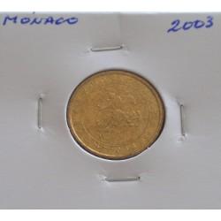 Mónaco - 10 Centimes - 2003
