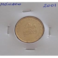 Mónaco - 20 Centimes - 2001