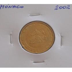 Mónaco - 20 Centimes - 2002