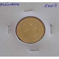 Mónaco - 20 Centimes - 2003