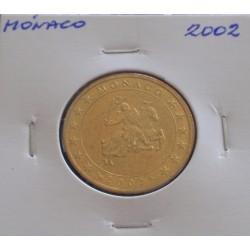 Mónaco - 50 Centimes - 2002
