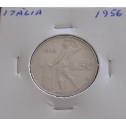Itália - 50 Lire - 1956