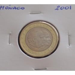 Mónaco - 1 Euro - 2001
