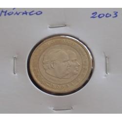 Mónaco - 1 Euro - 2003