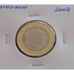 Mónaco - 1 Euro - 2007