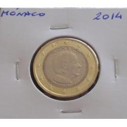 Mónaco - 1 Euro - 2014