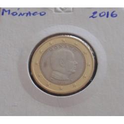 Mónaco - 1 Euro - 2016