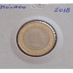 Mónaco - 1 Euro - 2018
