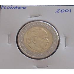Mónaco - 2 Euro - 2001