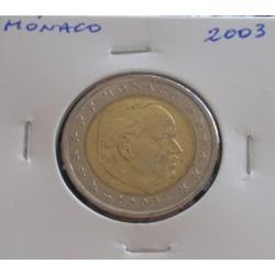 Mónaco - 2 Euro - 2003