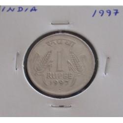 India - 1 Rupee - 1997