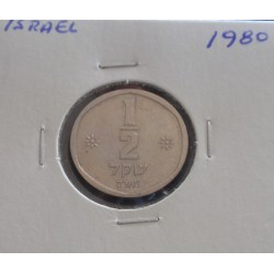Israel - 1/2 Sheqel - 1980