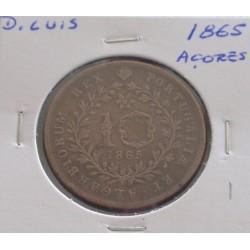 D. Luis - 10 Réis - 1865 (...