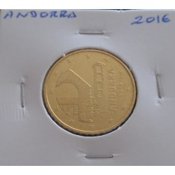 Andorra - 50 Centimes - 2016