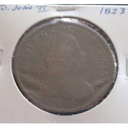 D. João VI - Pataco - 1823...