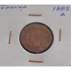 França - 2 Centimes - 1883 A