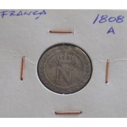 França - 10 Centimes - 1808 A