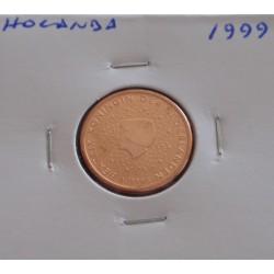 Holanda - 2 Centimes - 1999