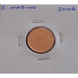 S. Marino - 1 Centime - 2006