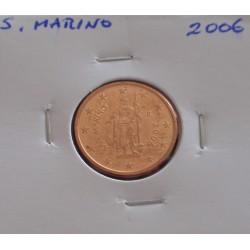 S. Marino - 2 Centimes - 2006