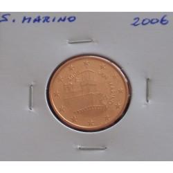 S. Marino - 5 Centimes - 2006