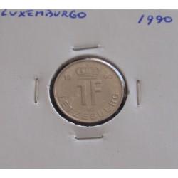 Luxemburgo - 1 Franc - 1990