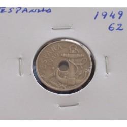 Espanha - 50 Centimos -...