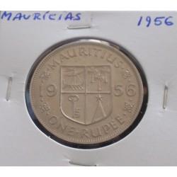 Maurícias - 1 Rupee - 1956