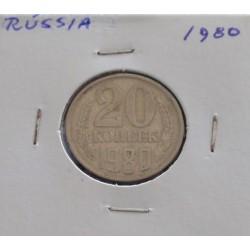 Rússia - 20 Kopeks - 1980