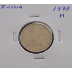 Rússia - 1 Rouble - 1998 M