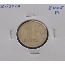 Rússia - 1 Rouble - 2005 M