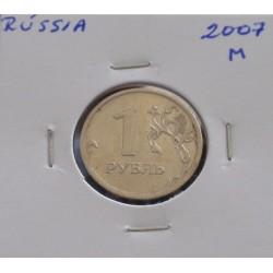 Rússia - 1 Rouble - 2007 M