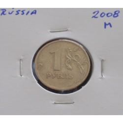Rússia - 1 Rouble - 2008 M