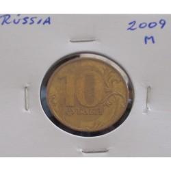Rússia - 10 Roubles - 2009 M