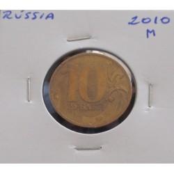 Rússia - 10 Roubles - 2010 M