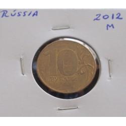 Rússia - 10 Roubles - 2012 M