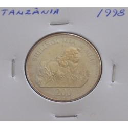 Tanzânia - 200 Shilingi - 1998