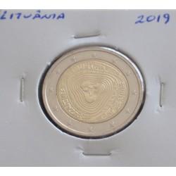 Lituânia - 2 Euro - 2019 -...