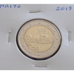 Malta - 2 Euro - 2019 - Ta...
