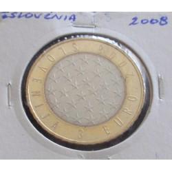 Eslovénia - 3 Euro - 2008